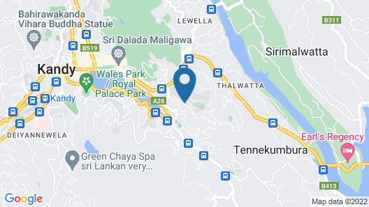 Mount Blue Kandy Map