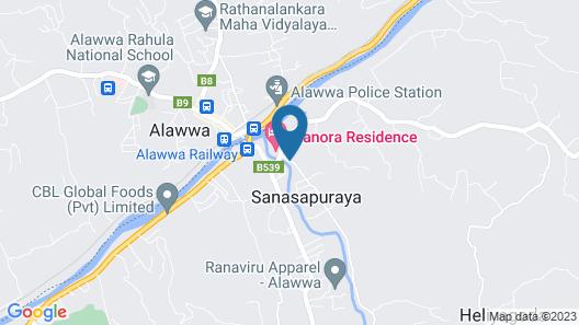Grindlays Regency Hotel Map