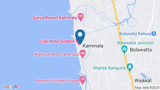 Club Hotel Dolphin Map