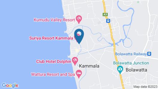Suriya Resort Map