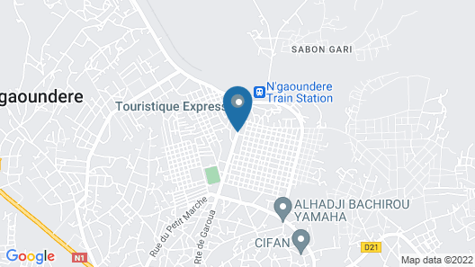 Adamaoua Hotel Map