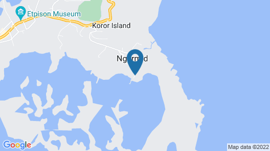 G.A.U. Mechang Lagoon Resort Map