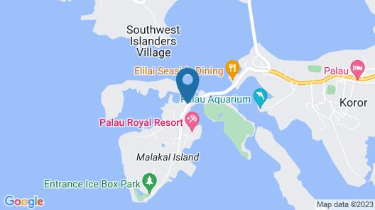 Sea Passion Hotel Map