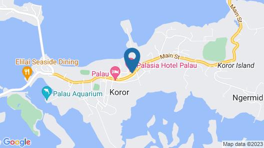 Palasia Hotel Palau Map