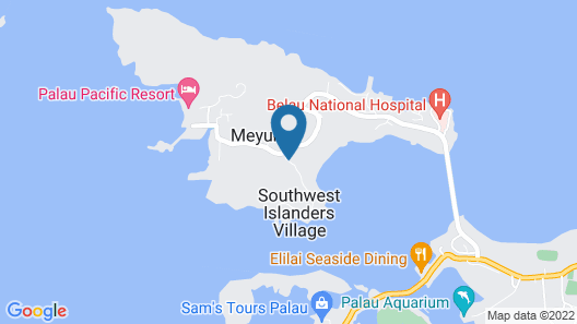 Cliffside View Hotel Map