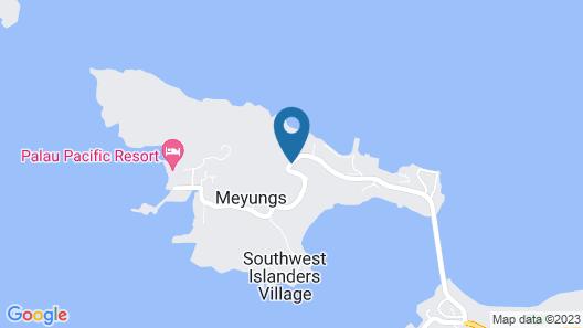 Beluu Sea View Resort Map