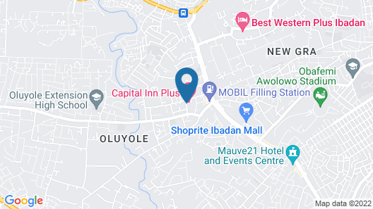 Capital Inn Plus Map