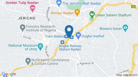 PALM 77 HOTEL Map