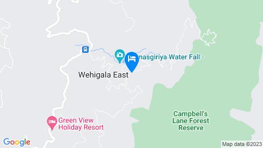 Hunas Falls Hotel Map