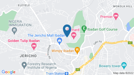 Orchard Hotel - Standard Map