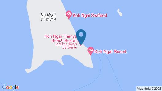 Koh Ngai Thanya Beach Resort Map