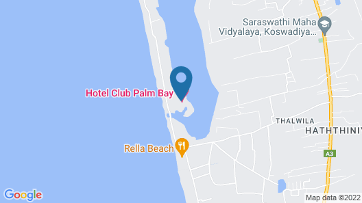 Club Palm Bay Map