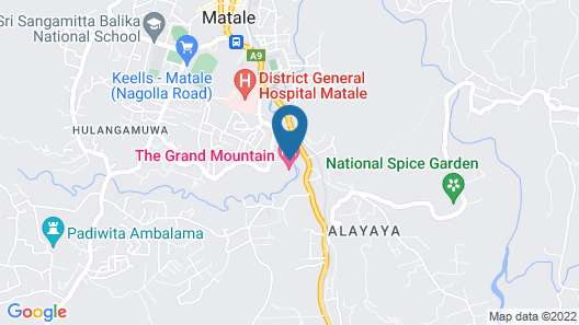 The Grand Mountain Hotel Map