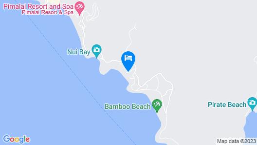 Klong Jark Apartment Map
