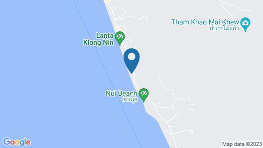 Nirvana  Beach Resort & Spa Map