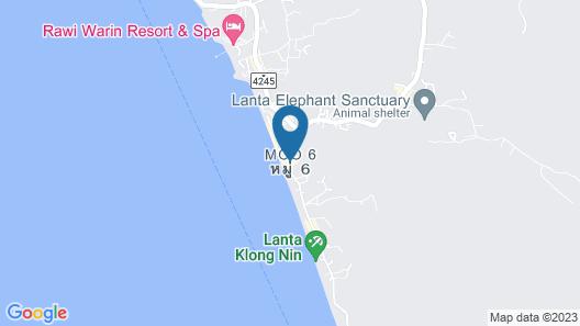 Phusan Bungalow Map