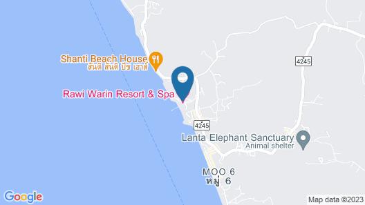 Rawi Warin Resort and Spa Map