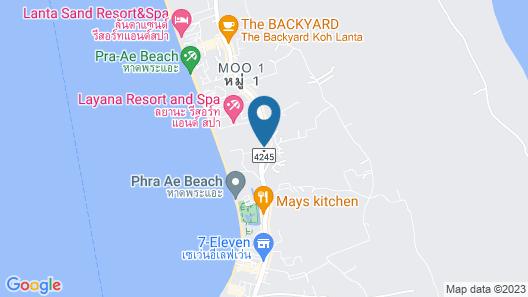 Long Beach Chalet Map