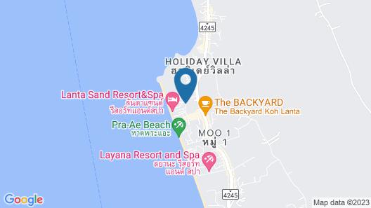 Lanta Sand Resort & Spa Map