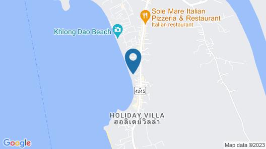 Lanta Mermaid Beachfront Resort Map