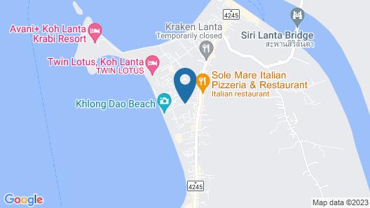Royal Lanta Resort & Spa Map
