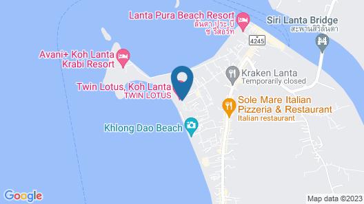Twin Lotus Koh Lanta Map