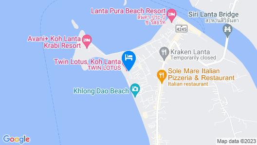 Twin Lotus Resort and Spa - SHA Plus Map