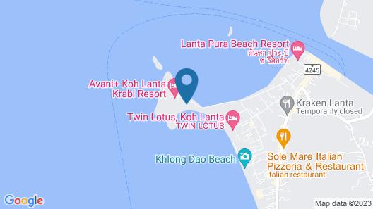 Twin Bay Resort Map