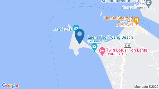 Crown Lanta Resort and Spa Map