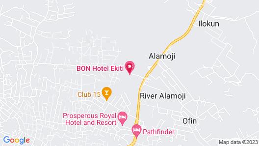 BON Hotel Ekiti Map