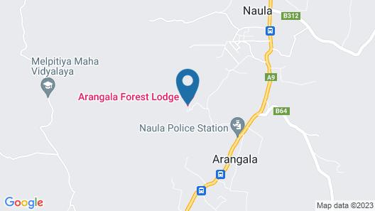 Arangala Forest Lodge Map