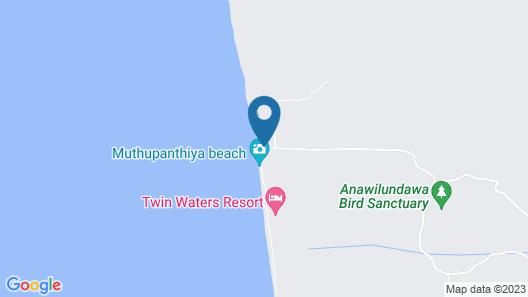 Anantaya Resort and Spa Chilaw Map