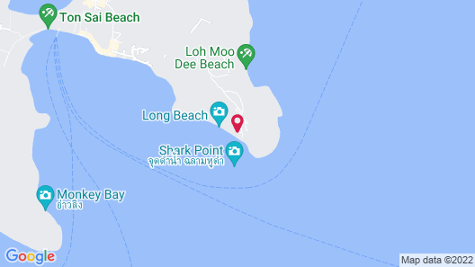 Phi Phi The Beach Resort Map