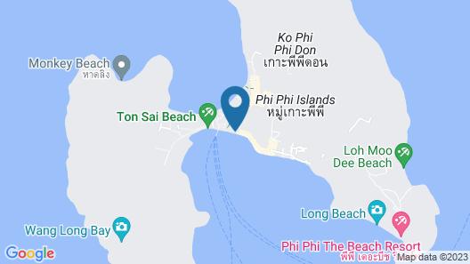 Phi Phi Banyan Villa Map