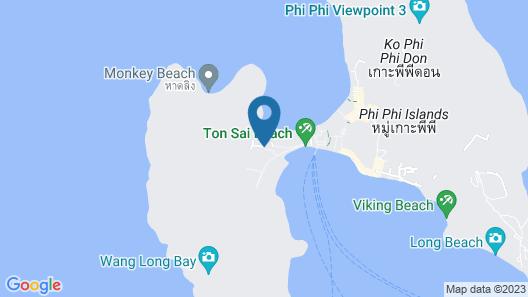 PP Sand Sea View Resort Map