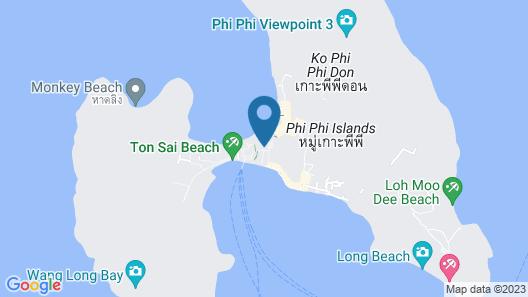 P.P. Palmtree Resort Map