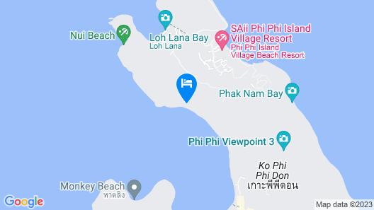 Phi Phi Sea Sky Resort Map