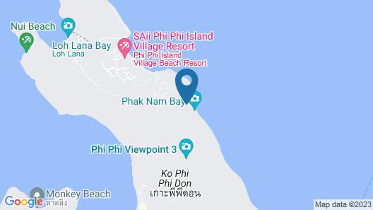 Phi Phi Relax Beach Resort Map