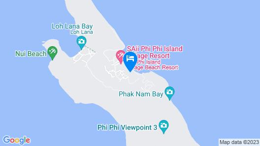 SAii Phi Phi Island Village Map