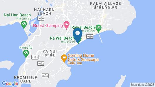 Rawai Palm Beach Resort Map