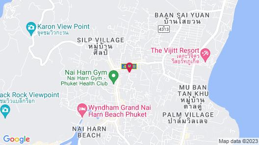 Peace Blue Naiharn Naturist Resort Phuket Map