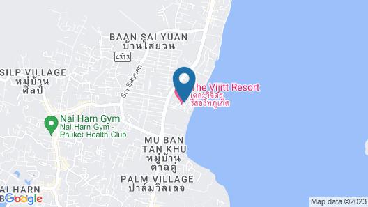 The Vijitt Resort Phuket Map