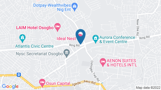 Ideal Nest Hotel Map