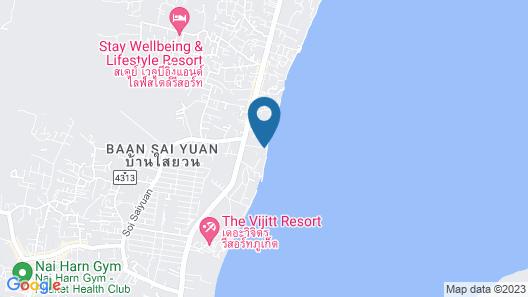 Serenity Resort & Residences Phuket Map