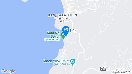 Katathani Phuket Beach Resort Map