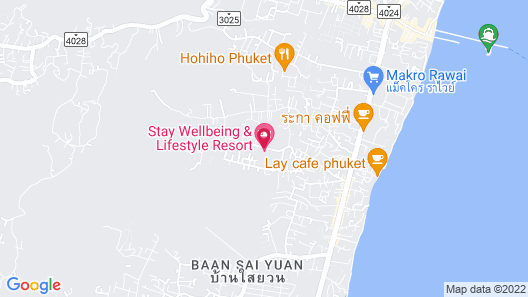 Stay Wellbeing & Lifestyle Resort Map