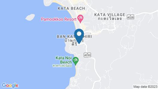The SIS Kata Resort Map