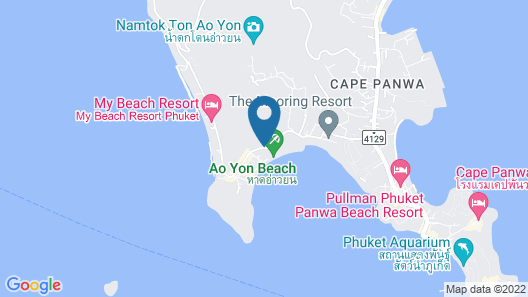 Bandara Phuket Beach Resort Map