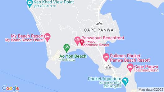 The Cove Phuket Map
