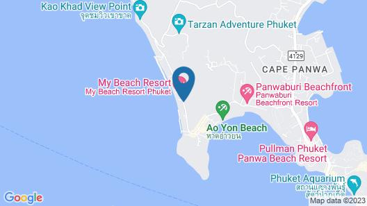 Stunning Oceanview Villa Taipan Map